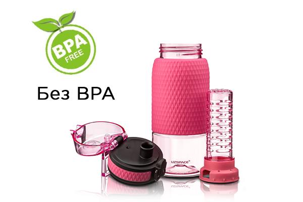 BPA free бутылка для воды